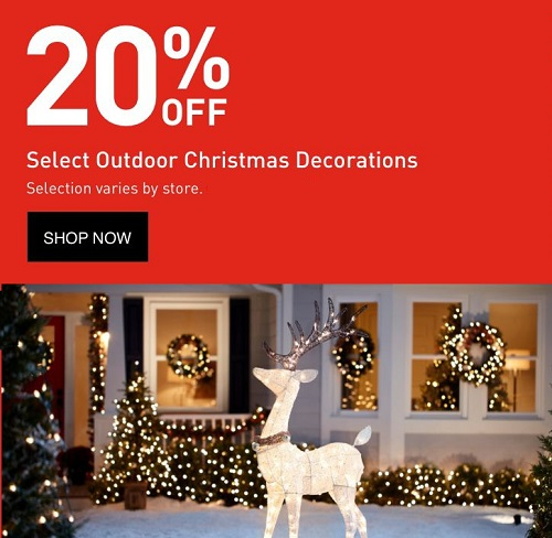 Lowes Christmas 2018 Sales, Deals & Ads